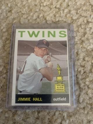 Jimmie Hall 1964 Topps #73 Minnesota Twins