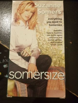 Suzanne Somers Somersize Weightloss Cassettes