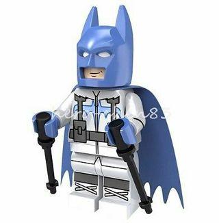 Super Heroes Minifigure Batman Justice League Bruce Wayne DC Comics Building Toy