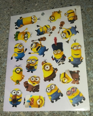MINIONS STICKERS AND ACTIVITY SHEETS
