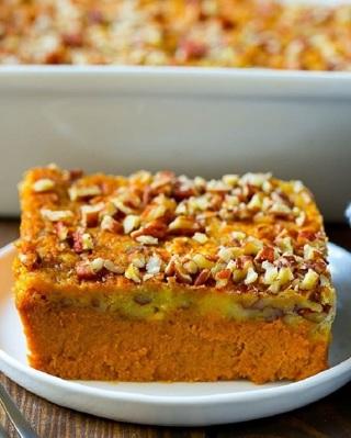 •☆(New) Pumpkin Dump Cake Recipe ☆•