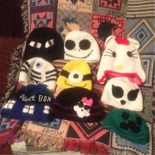 Crocheted Hats Winners Choice