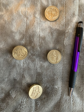 Wax seal stamp head