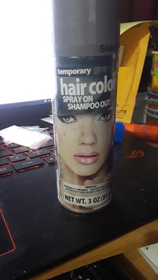 Temporary Hair Color GREY