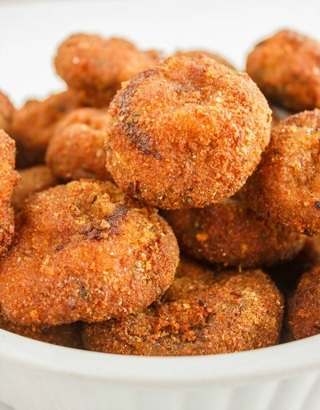 ☆(New)Crispy Deep Fried Breaded Mushrooms Recipe☆
