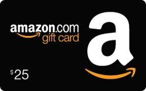 25$ amazon gift or Google play gift card fast delivery