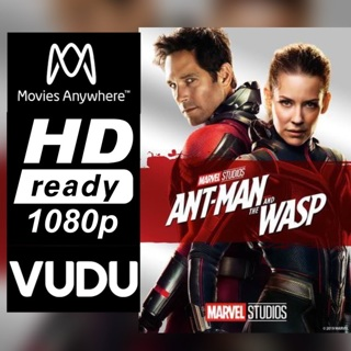 ANT-MAN AND THE WASP HD MOVIES ANYWHERE OR VUDU CODE ONLY