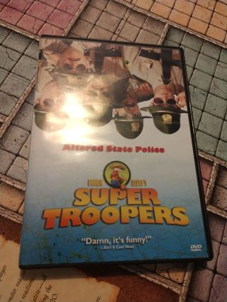 Super Troopers DVD