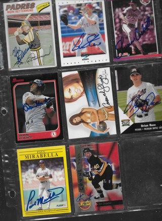 WINNER PICKS 2 ONLY OF THE 35 AUTOGRAPH CARDS