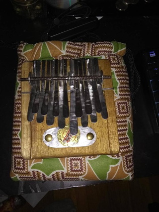 Juma Kalimba In C Major - Small Nyunga Nyunga Light Brown