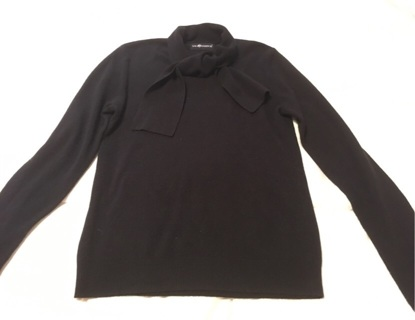 Women's Black Sweater Size L Made By Sag Harbor