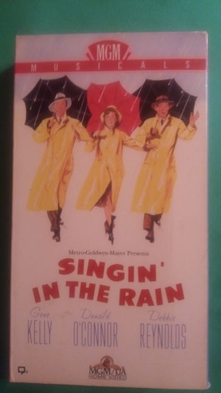 vhs singing in the rain free shipping