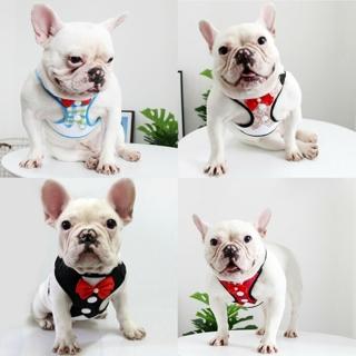 Adjustable Breathable Mesh Small Dog Cat Pet Harness Leash Puppy Wedding Vest