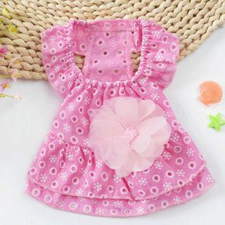 Hot Cute Pet Puppy Dog Cat Lace Skirt Princess Dress Summer Vest Clothes Apparel