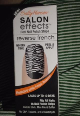 Sally Hansen nail effects