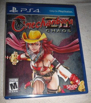 PS4 Onechanbara z2 chaos BRAND NEW SEALED