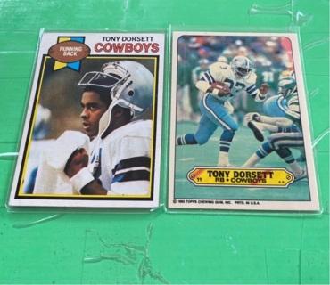 1979/1983 Topps Tony Dorsett Lot!