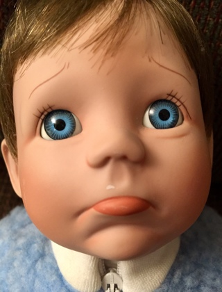 "New Ashton-Drake ""Mommy I'm Sorry"" 14"" Porcelain Doll"
