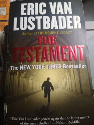 The Testament: Eric Van Lustbader: Paperback