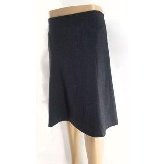 Calvin Klein grey skirt bell shaped Sz S