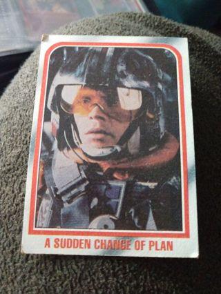 Star Wars Card - A Sudden Change of Plan