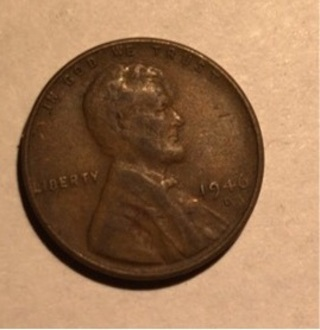 1946 D LINCOLN WHEAT CENT