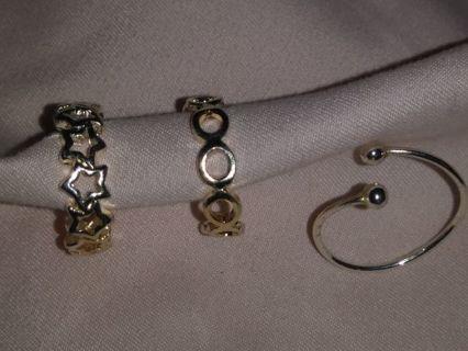 Silver Toe Rings!