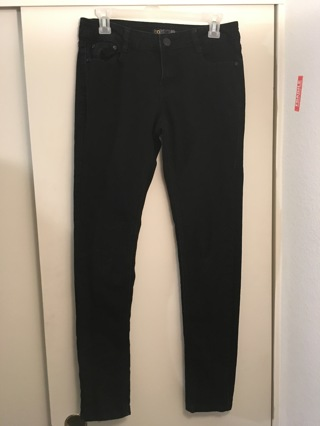 Black Jeans Pants FREE SHIPPING