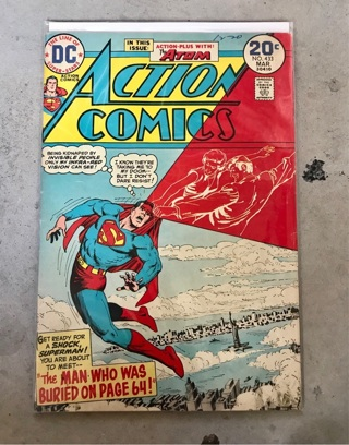 Action Comics 433 20 cent Silver Age