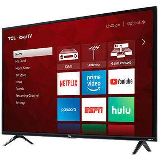 TCL 32S325 32-Inch 3-Series 720p HD Roku Smart TV w/ Dual-Band Wi-Fi &