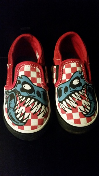 VAN'S For Toddlers (Used In Nearly New Condition)  Size 6.0 Toddler USA
