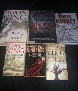 Stephen King books and more