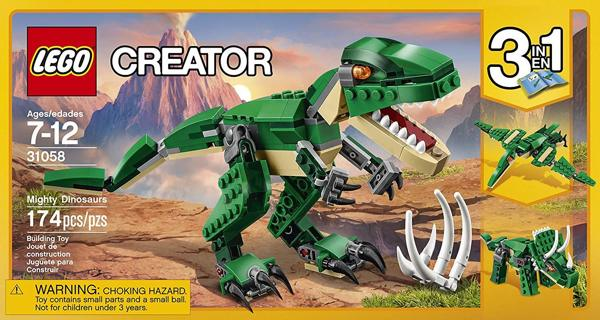 NEW LEGO Creator Mighty Dinosaurs 31058 Dinosaur Toys Building Toys FREE SHIPPING