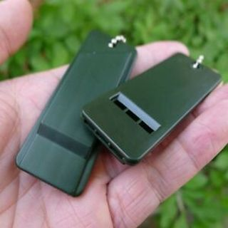 Camping Hiking Emergency Whistle Survival Outdoor Tool Rescue Whistle