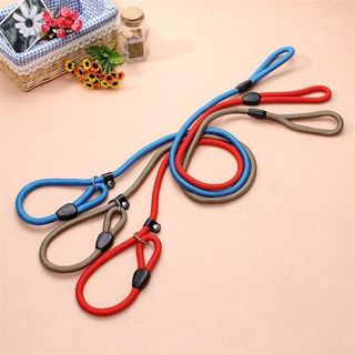 Pet Dog Nylon Rope Training Leash Slip Lead Strap Adjustable Traction Collar