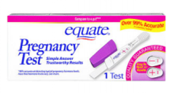 free walmart coupon equate pregnancy test other auctions for free stuff. Black Bedroom Furniture Sets. Home Design Ideas
