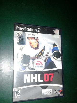 NHL 07 Play Station 2