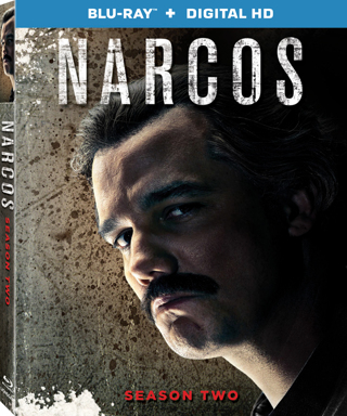 Narcos : Season 2 (Digital HD Download Code Only) *Wagner Moura* *Pedro Pascal* *Boyd Holbrook*
