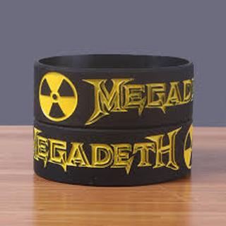 NEW MEGADEATH Band Bracelet Wristband Music Band Fan Merch Accessories