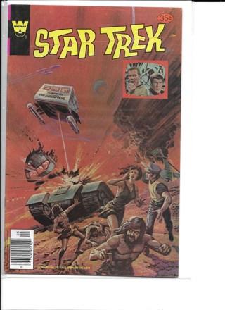 4 Star Trek Whitman/Gold Key Comics #152,7,53 & 16