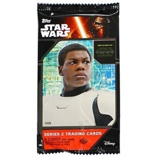 BRAND NEW BOOSTER PACK TOPPS STAR WARS: THE FORCE AWAKENS SERIES 2 TRADING CARDS