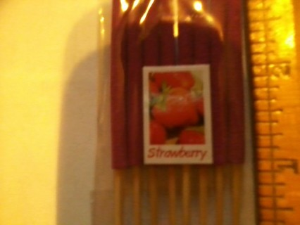 8pk of shortstick  strawberry incense