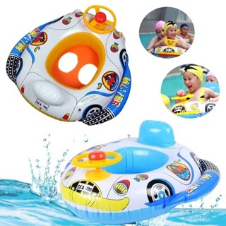 Funny Kids Baby Inflatable Swimming Pool Ring Child Inflatable Swimming laps Pool Swim Ring Seat