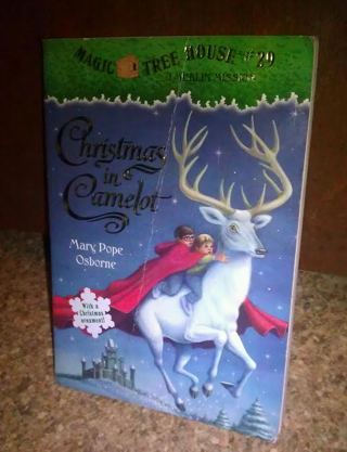 MAGIC TREE HOUSE #29 : CHRISTMAS IN CAMELOT A Merlin Mission PB Book  CHILDREN's Scholastic - Free: MAGIC TREE HOUSE #29 : CHRISTMAS IN CAMELOT A Merlin Mission