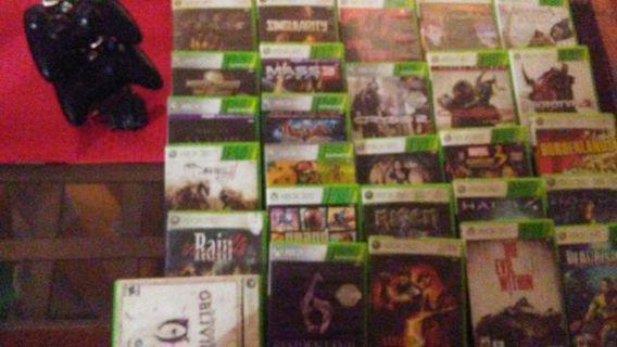 Huge Xbox 360 lot!