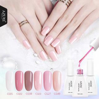 Azure Beauty 12ML Nail Gel Polish Soak Off UV Nail Gel Polish Purple Color Gel Nail Polish Long La