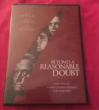 Beyond A Reasonable Doubt DVD EUC
