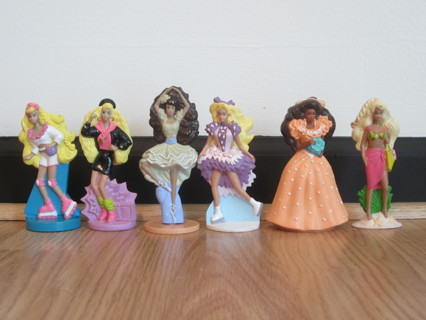 Free VINTAGE Barbies Mini Toys From McDonalds 80s And 90s