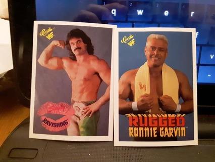 2 - 1990 WWF WRESTLING CARDS