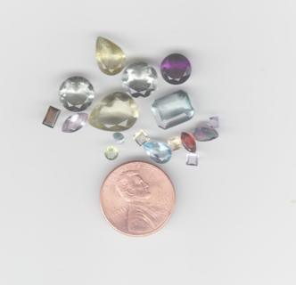 Cut Gemstones (as shown) Loose (set 4)